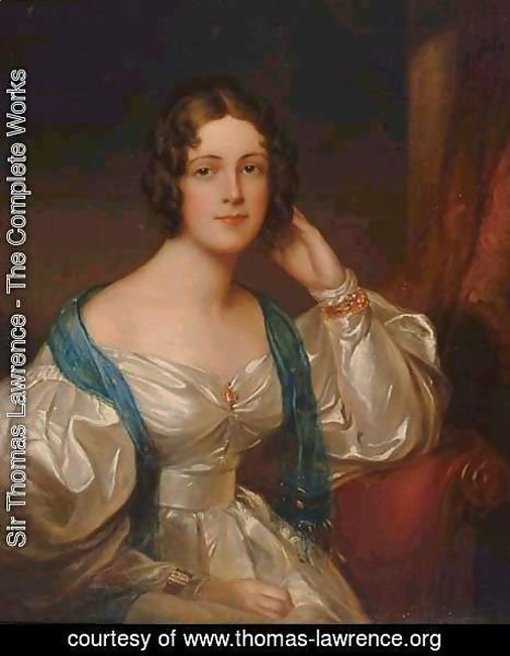 Sir Thomas Lawrence - Lady Constance Carruthers