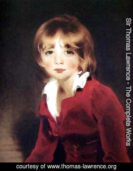 Sir Thomas Lawrence - Children - Sir John Julian
