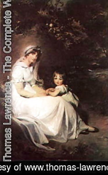 Sir Thomas Lawrence - Lady Templeton and her Son