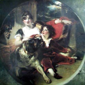 Sir Thomas Lawrence - Mrs Maguire and her Son