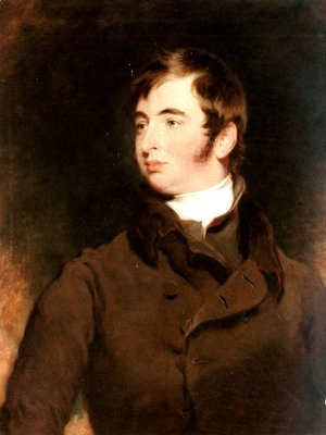 Sir Thomas Lawrence - Portrait of George Charles Pratt, Earl of Brecknock (1799-1866)