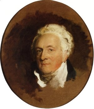 Sir Thomas Lawrence - Portrait of Henry Bathurst, 3rd Earl Bathurst (1762 - 1834)