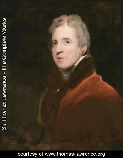 Sir Thomas Lawrence - Portrait of Sir George Howland Beaumont, 7th Bt. (1753-1827)