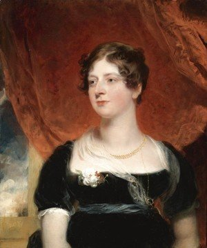 Sir Thomas Lawrence - Portrait of Miss Glover of Bath