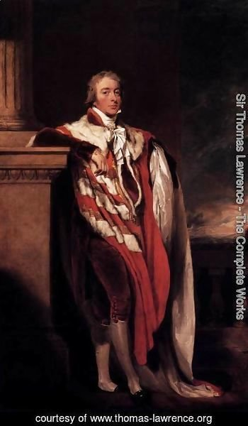 Sir Thomas Lawrence - John Fane, Tenth Count of Westmorland