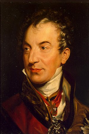 Sir Thomas Lawrence - Klemens Wenzel von Metternich (1773-1859), German-Austrian diplomat, politician and statesman (detail)