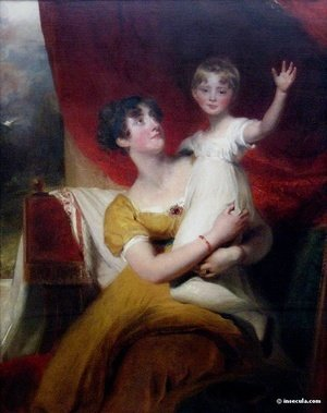 Sir Thomas Lawrence - Lady Orde with her daugther Anne