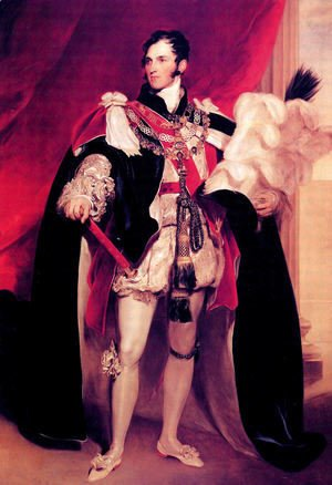 Sir Thomas Lawrence - Leopold I; King of the Belgians Order of the Garter