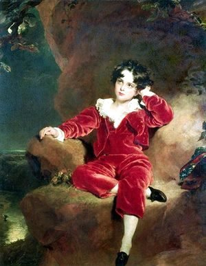 Sir Thomas Lawrence - Master Charles William Lambton