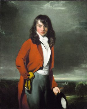 Sir Thomas Lawrence - Portrait of Arthur Atherley as an Estonian