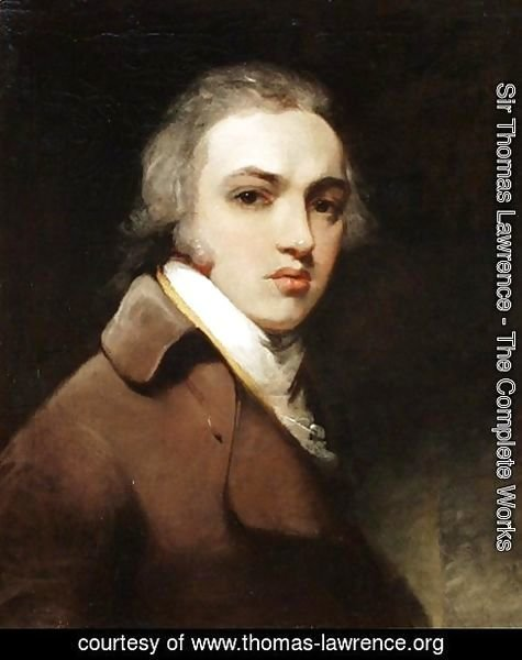 Self-portrait of Sir Thomas Lawrence