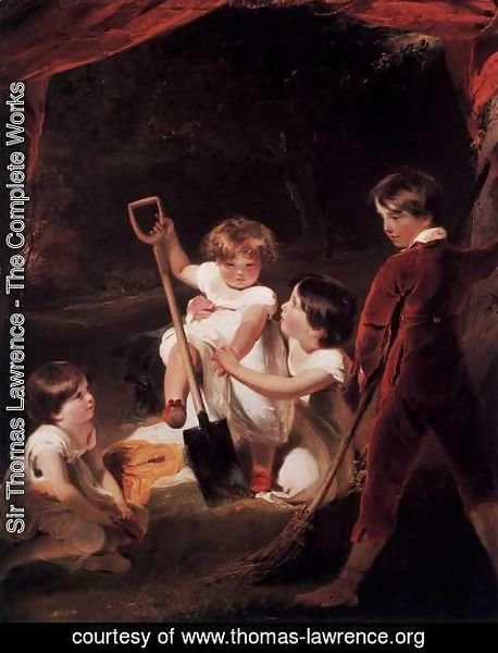 Sir Thomas Lawrence - The Angerstein Children