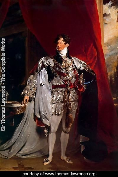 The Prince Regent [later George IV] of England