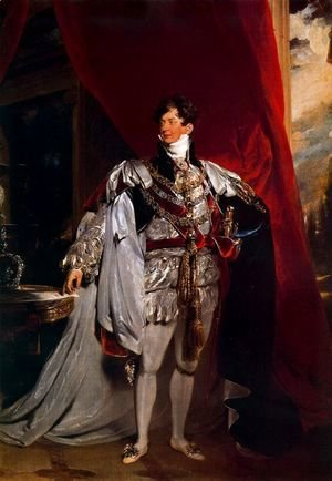 Sir Thomas Lawrence - The Prince Regent [later George IV] of England