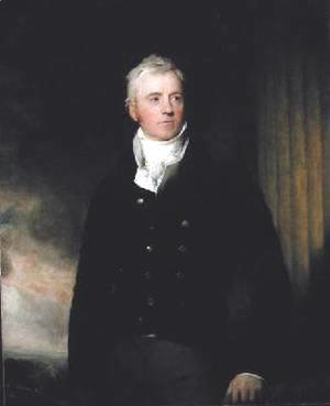 Sir Thomas Lawrence - Portrait of William Robertson of Chilcote