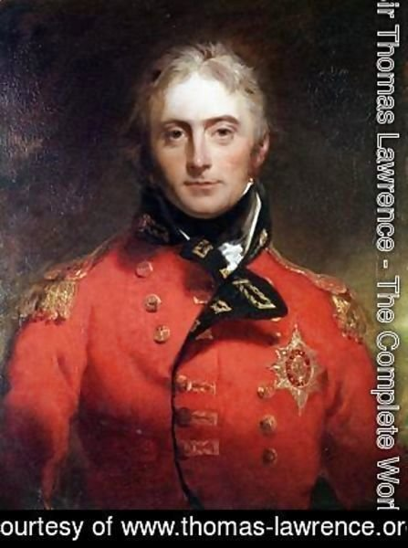 Sir Thomas Lawrence - Lieutenant General Sir John Moore KB 1761-1809
