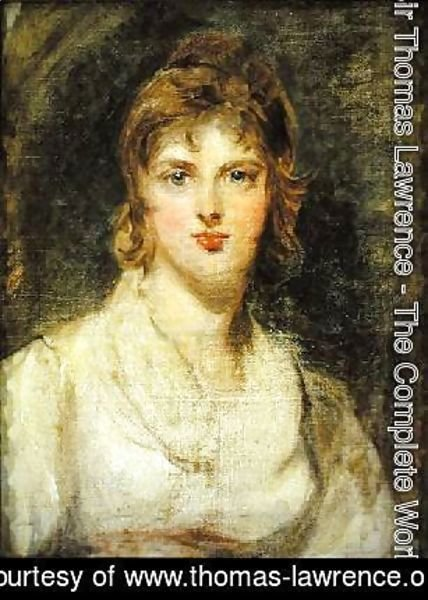 Sir Thomas Lawrence - Margarette Wilkes