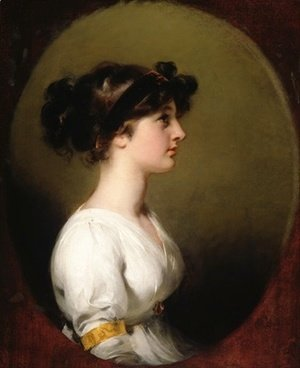 Sir Thomas Lawrence - The Hon Caroline Upton