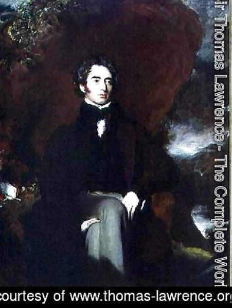 Sir Thomas Lawrence - Portrait of Robert Southey 1774-1843 English poet and man of letters
