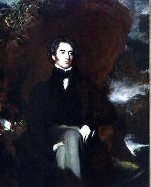 Portrait of Robert Southey 1774-1843 English poet and man of letters
