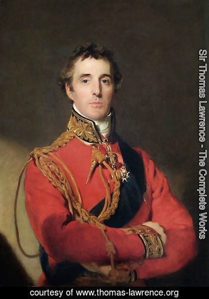 Sir Thomas Lawrence - Portrait of Arthur Wellesley 1769-1852