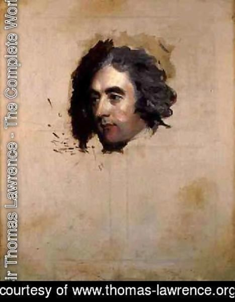 Sir Thomas Lawrence - A Portrait of a Man possibly William Eden