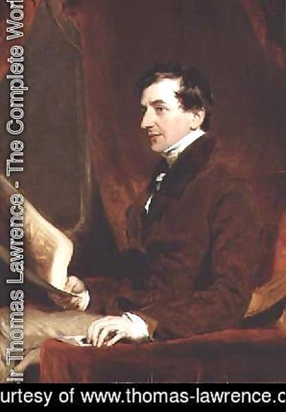 Sir Thomas Lawrence - Portrait of Samuel Woodburn
