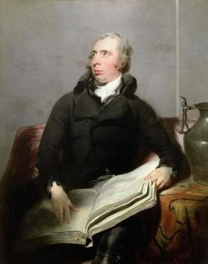 Sir Thomas Lawrence - Portrait of Richard Payne Knight 1750-1824