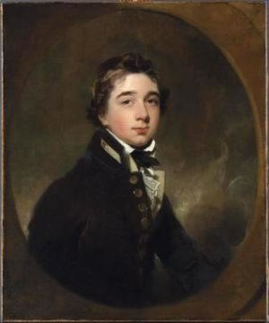 Sir Thomas Lawrence - Portrait of Midshipman Michael Daintry