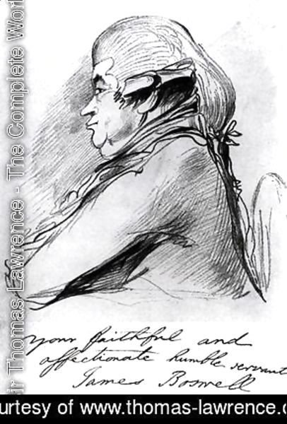 James Boswell 1740-95