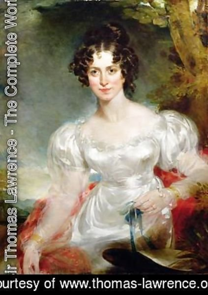 Sir Thomas Lawrence - Portrait of Lady Anne Bentinck