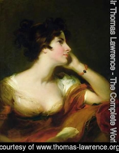 Sir Thomas Lawrence - Maria Banks Woodley Riddell 1772-1808