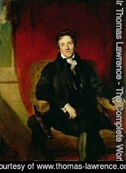 Portrait of Sir John Soane 1753-1837