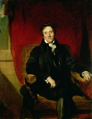 Sir Thomas Lawrence - Portrait of Sir John Soane 1753-1837