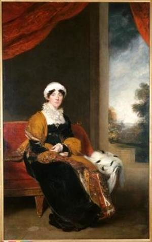 Sir Thomas Lawrence - Portrait of Eleanor Lady Wigram