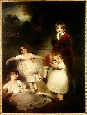 Sir Thomas Lawrence - The Children of John Angerstein 1735-1823