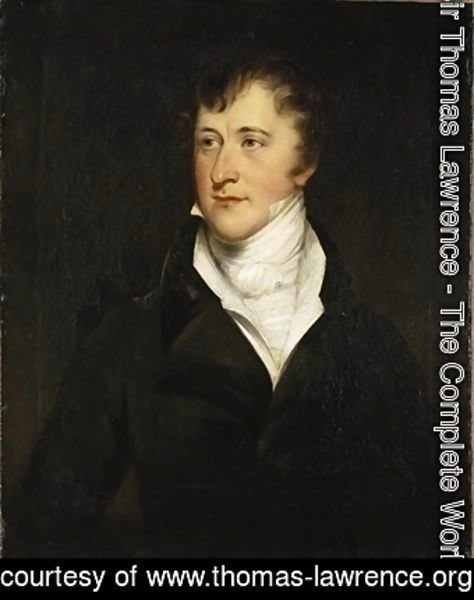 Sir Thomas Lawrence - Portrait of William Spencer Cavendish