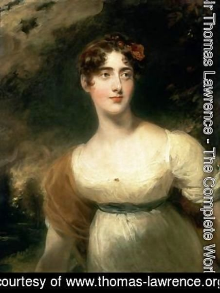 Portrait of Lady Emily Harriet Wellesley Pole