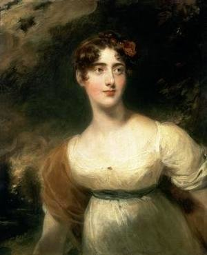 Sir Thomas Lawrence - Portrait of Lady Emily Harriet Wellesley Pole