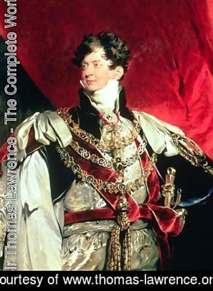 Sir Thomas Lawrence - The Prince Regent