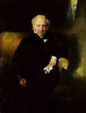 Sir Thomas Lawrence - Portrait of Henry Fuseli Johann Heinrich Fussli