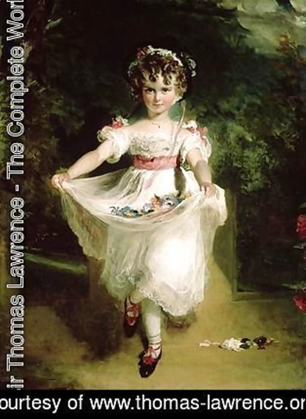 Sir Thomas Lawrence - Miss Murray 2