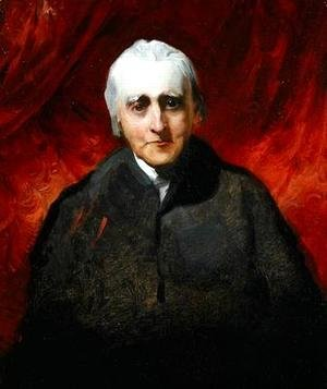Sir Thomas Lawrence - Portrait sketch of an elderly man