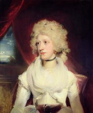 Sir Thomas Lawrence - Portrait of Miss Martha Carr