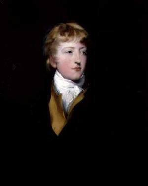 Sir Thomas Lawrence - Portrait of Hastings Impey 1782-1805