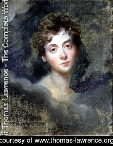 Sir Thomas Lawrence - Portrait of Lady Caroline Lamb 1785-1828