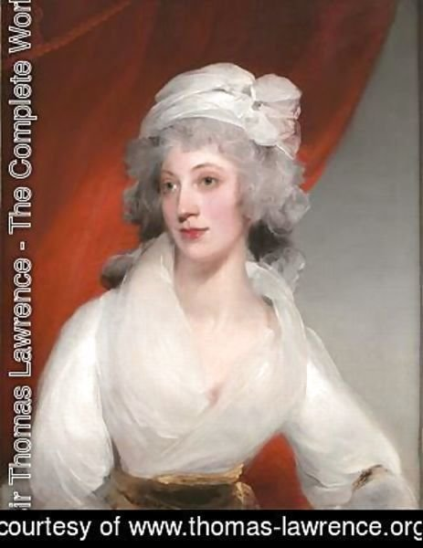Sir Thomas Lawrence - Portrait of Margaret Bewicke
