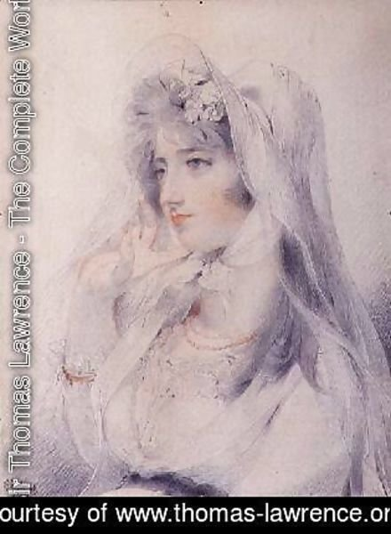 Sir Thomas Lawrence - Portrait of Mrs Angerstein