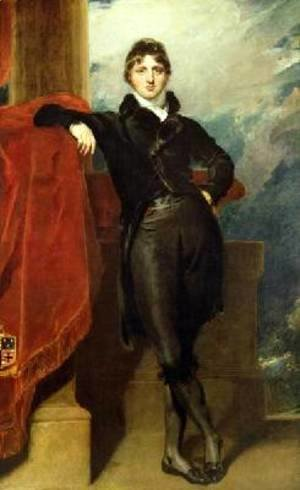 Sir Thomas Lawrence - Lord Granville Leveson Gower Later 1st Earl Granville