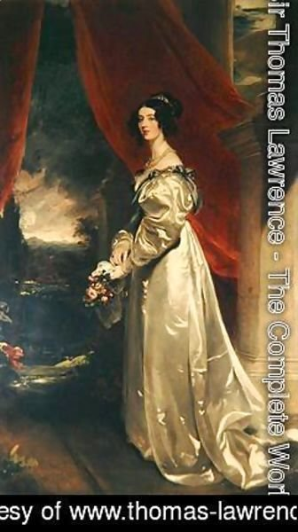 Sir Thomas Lawrence - Caroline 5th Duchess of Richmond